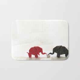 Elephant Love Bath Mat