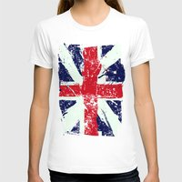 union jack T-shirts featuring Union Jack  by UrbanCandy