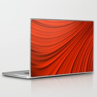 renaissance Laptop & iPad Skins featuring Renaissance Red by Charma Rose