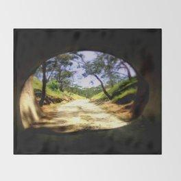 Cheviot Tunnel Throw Blanket