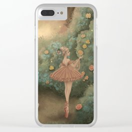 Flowers for the Table Clear iPhone Case