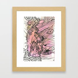 Bound and Wound Framed Art Print