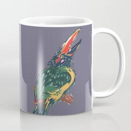 Green Aracari Coffee Mug