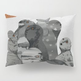 Two moons Pillow Sham