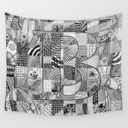 The Letter B Wall Tapestry