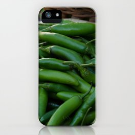 Mexican Jalapeno Peppers iPhone Case