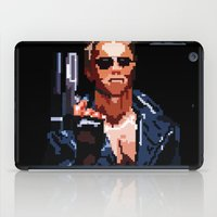terminator iPad Cases featuring Terminator Pixelated by Escobarr