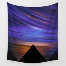 ESCAPE - Pyramids Silhouette Wall Tapestry