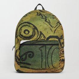 Pounamu 10c tiki Backpack