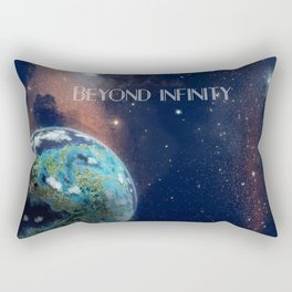 Beyond Infinity | Vacation Planet Rectangular Pillow
