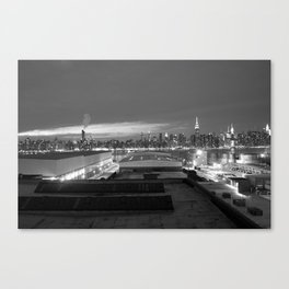 NYC from Brooklyn Canvas Print