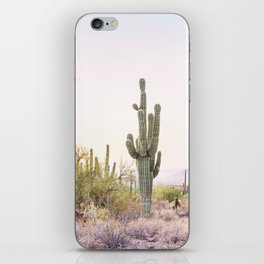 Cactus In The Desert iPhone Skin
