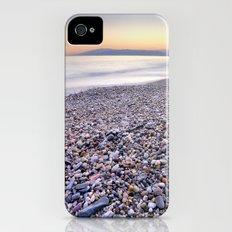 little stones at sea sunset iPhone (4, 4s) Slim Case