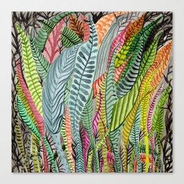Sea Plants Canvas Print