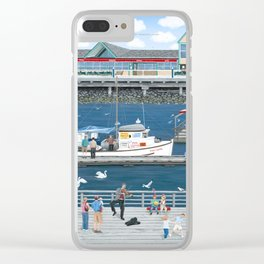 Steveston Landing Clear iPhone Case
