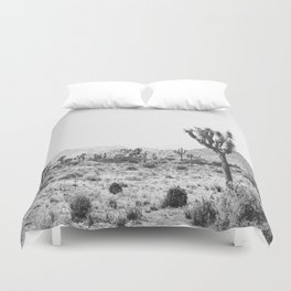 Joshua Tree Monochrome, No. 1 Duvet Cover