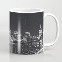brooklyn Mugs featuring Brooklyn  by Julia Ann