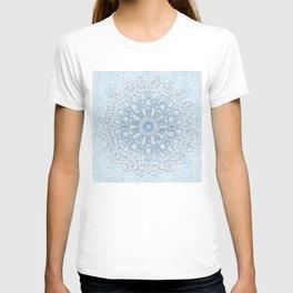 Frozen Aqua Mandala T-shirt