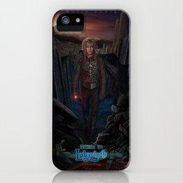 Jareth Is Back-Return To Labyrinth iPhone Case