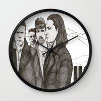 u2 Wall Clocks featuring Joshua Tree by Paul Nelson-Esch Art