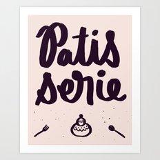 Pastry Art Print