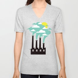 The Cloud Factory Unisex V-Neck