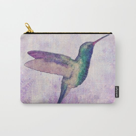 abstract hummingbird Carry-All Pouch