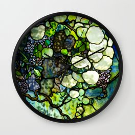 Louis Comfort Tiffany - Decorative stained glass 7. Wall Clock