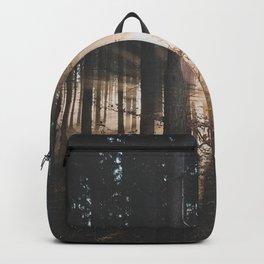 Sun Rays through Trees Backpack