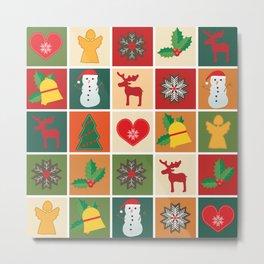 Holiday Cheer Christmas Metal Print