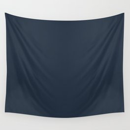 Awestruck ~ Steel Blue Wall Tapestry