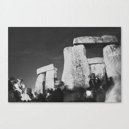 Solstice Before Sunrise Canvas Print