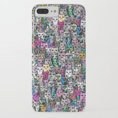 Gemstone Cats CYMK iPhone 7 Plus Slim Case