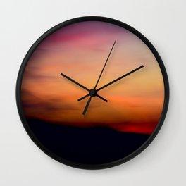 Afterglow II Wall Clock