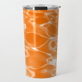 Orange Water Travel Mug