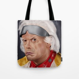 "Emmett ""Doc"" Brown Tote Bag"
