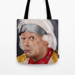 "Emmett ""Doc"" Brown Tote Bag"