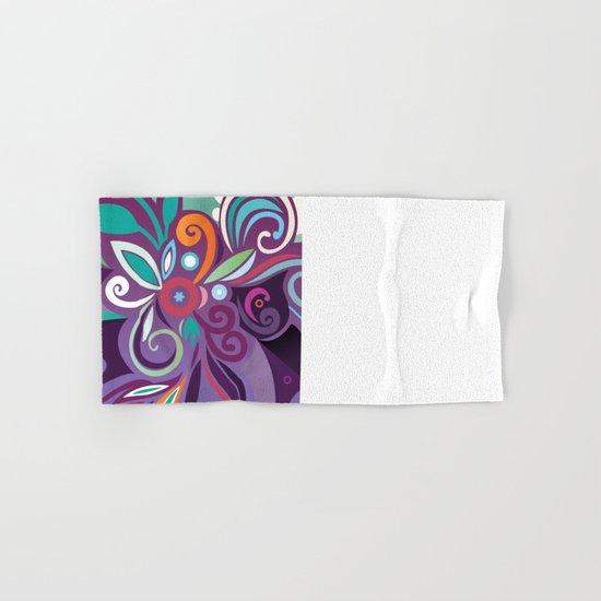 Floral curves of Joy Hand & Bath Towel