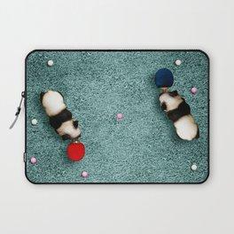 Ping Pong Pandas Laptop Sleeve