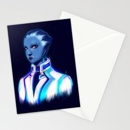 NEON Dr. Liara T'Soni Stationery Cards