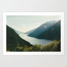 Norway X Art Print