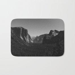 Tunnel View, Yosemite National Park IV Bath Mat