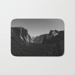 Tunnel View, Yosemite National Park IV Bath Mat