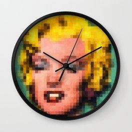 Marilyn Still Alive ? Wall Clock