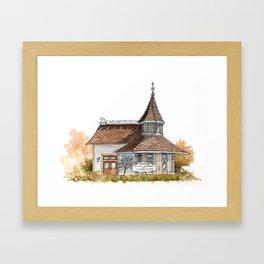 Clovis Tourist Information and Visitors Center Framed Art Print