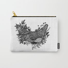 Rooster - Go Vegan Carry-All Pouch