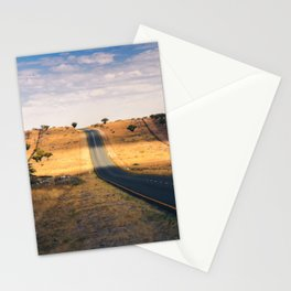 Road in Africa Stationery Cards
