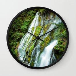 Panther Creek Falls Wall Clock
