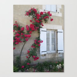 French Roses Canvas Print