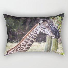 An Unlikely Couple Rectangular Pillow